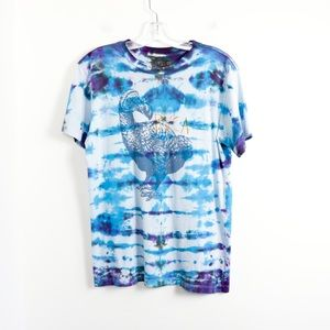 RVCA graphic tee dodo bird tie-dye artist t-shirt
